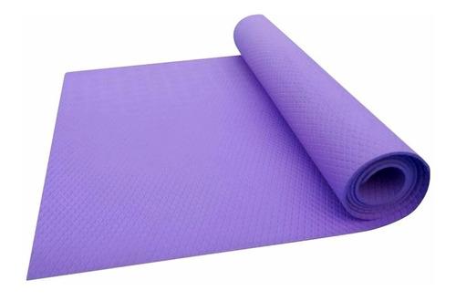 colchoneta yoga pilates mat 4mm manta enrollable 1,70 x 0.60