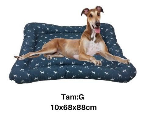 colchonete cama cães e gatos g 10x68x88cm