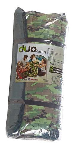 colchonete camping 2 em 1 ( colchonete + saco de dormir )