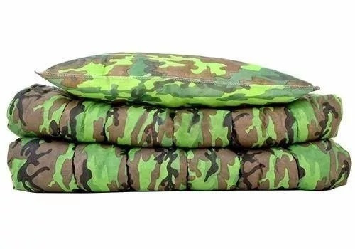 colchonete colchao acampamento c/ travesseiro macio solteiro