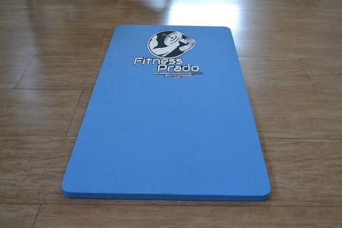colchonete eva azul 100 x 50 x 20 mm - halteres e anilhas