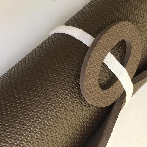 colchonete eva cor exclusiva café 1,80m53cm10mm ginástica