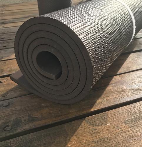 colchonete eva kit c/2 exclusiva café 1,80m53cm10mm fitness