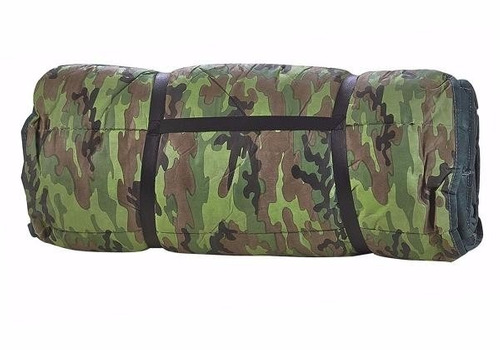 colchonete + saco dormir  2 em 1   1,85x0,65 cm
