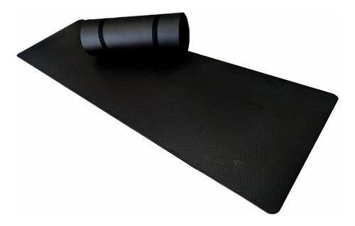 colchonete tapete yoga ginástica pilates 1,80mx53cmx10mm