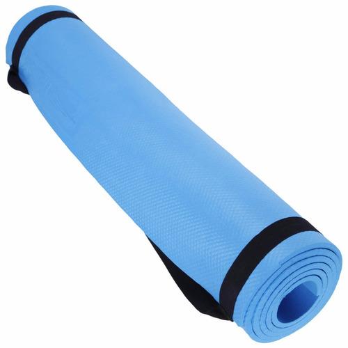 colchonete tapete yoga mat p/ ginástica, pilates hidrolight