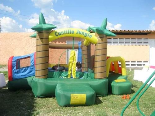 colclon inflable castillo jungla 5x4