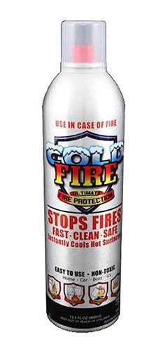 cold fire ultimate supresor portátil de fuego 400ml