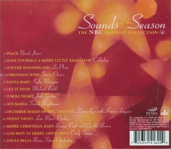 coldpay, brightman, sounds of the season cd semnvo 2001 usa