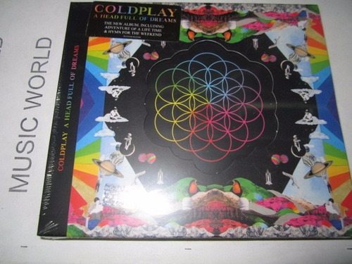 coldplay a head full of dreams cd nuevo disponible !!