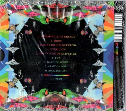 coldplay  a head full of dreams cd nuevo sellado