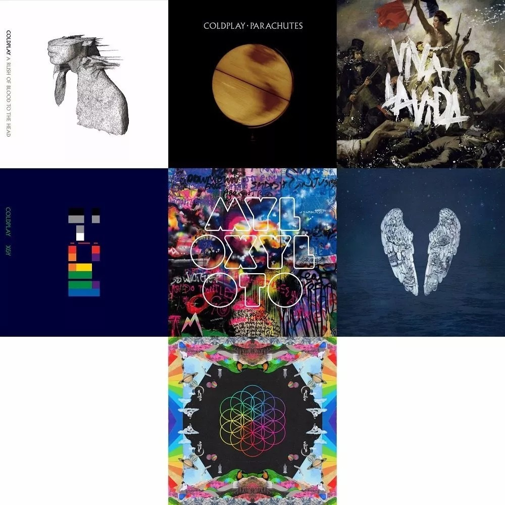 discografia coldplay