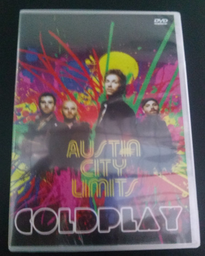 coldplay - dvd - live in austin city limits