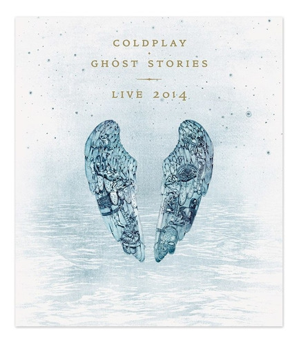 coldplay ghost stories live 2014 cd + dvd nuevo