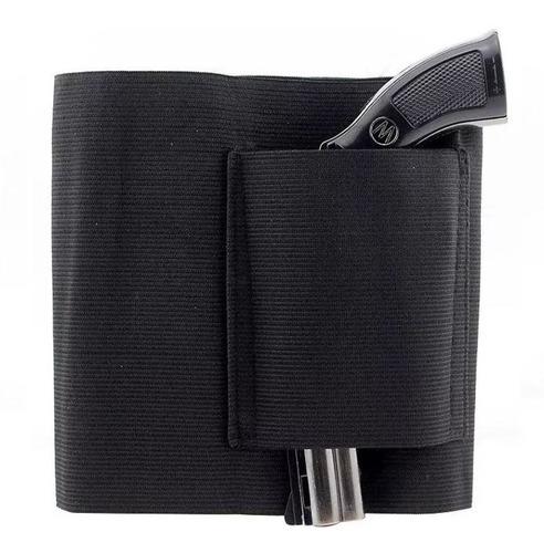 coldre de cintura 94 cm para revolver pistola com carregador