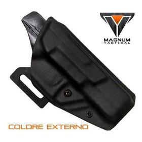 Coldre Externo Kydex Glock G17, G22 - Cor Black