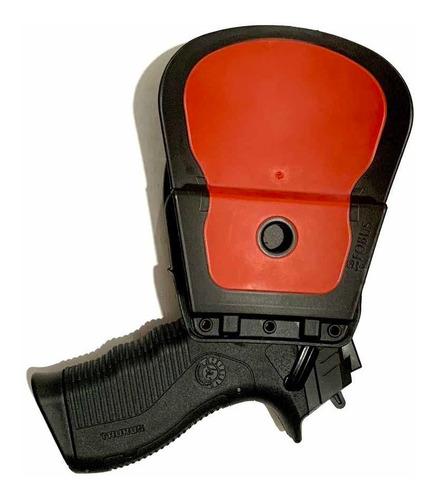 coldre fobus destro brs nd polímero pistola taurus universal