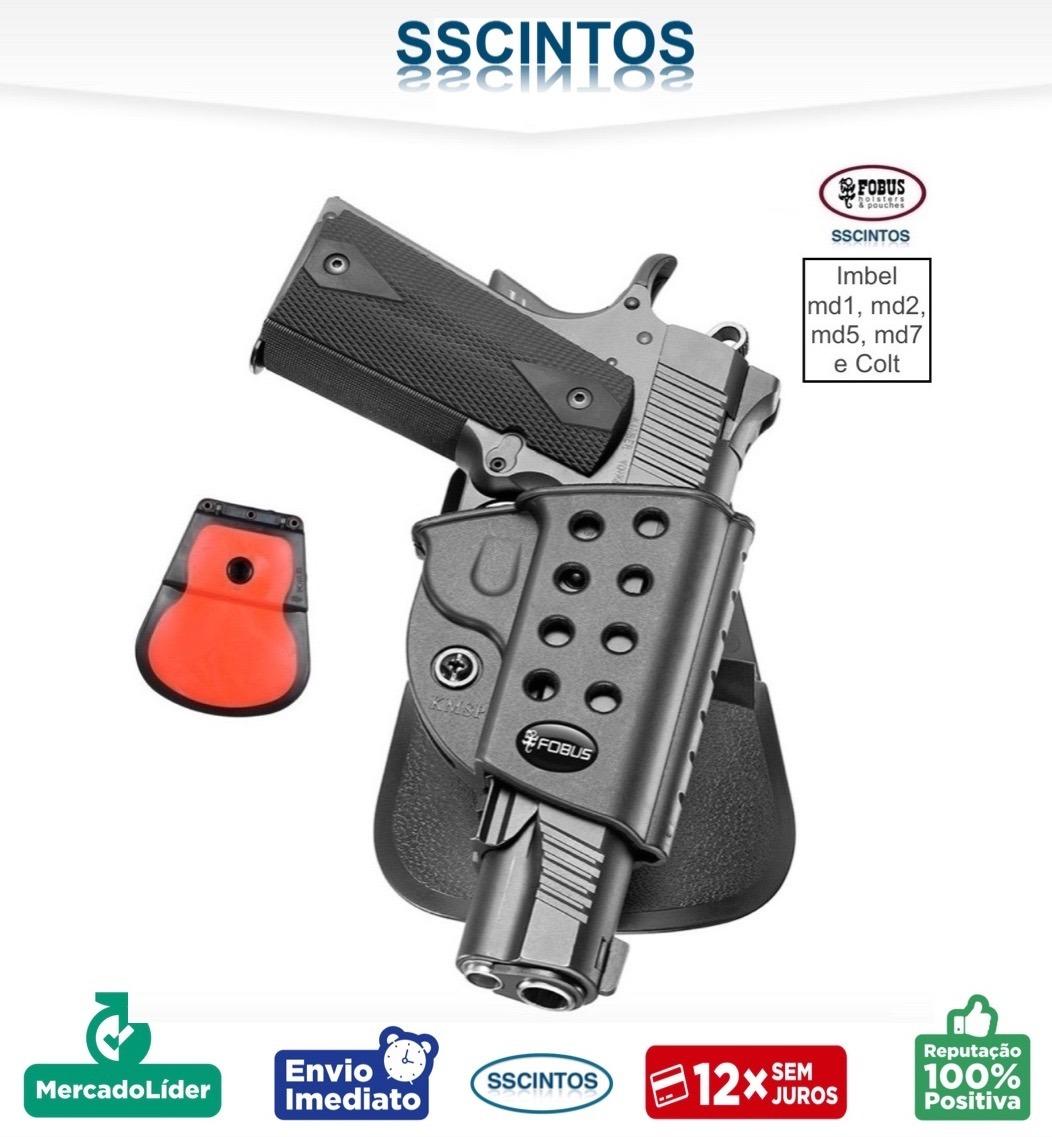Coldre Polimero Fobus Colt 1911 E Imbel Md1,md2, Md5, Md7 - R$ 154 ...
