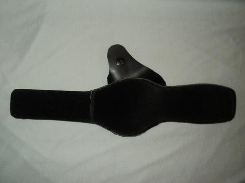 coldre tático para tornozelo cal 38 2 polegadas em couro