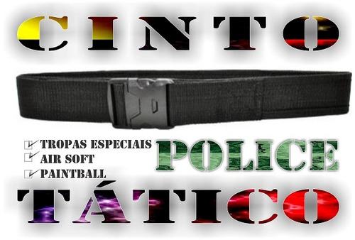 coldre tático police robocop em rip stop  + cinto tático.