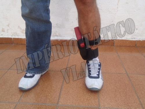 coldre tornozelo com porta funcional * vlad *