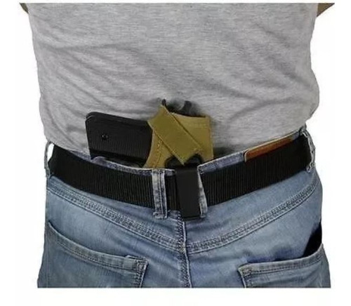 coldre velado cintura pistola e revolver