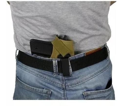 coldre velado para pistola e revolver  pequeno e médio