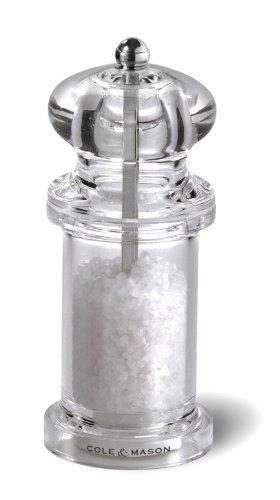 cole y mason 505 sal grinder - acrílico molino incluye un m