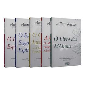 Coleção Allan Kardec (5 Volumes - Bolso)