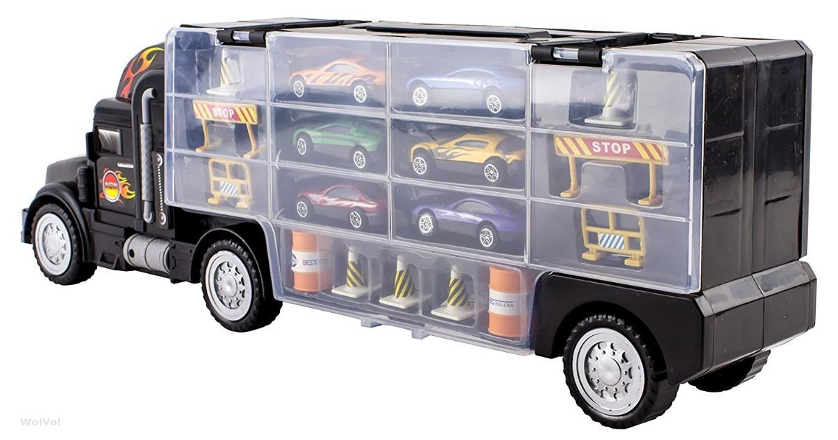 Toy Car Holder Truck : Colecao caminhao cegonha c carros carrinhos toy