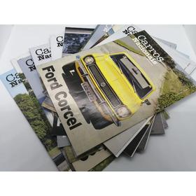 Coleção Carros Do Brasil Clássicos 2 Completa - 12 Unidades