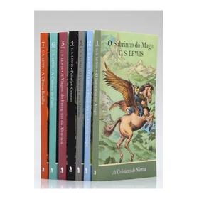 Coleção Completa As Crônicas De Nárnia 7 Livros C S Lewis