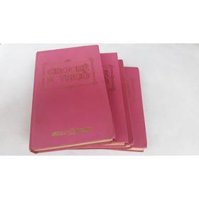 Coleção Curso Crochê E Trico - Seculo Futuro 4 Volumes (raro
