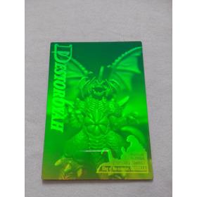 Coleção De Cards Godzila´95 / Especiais_ 4 Hologramas