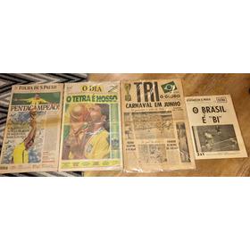 Coleção Dos Mundiais Do Brasil Nas Copas Do Mundo