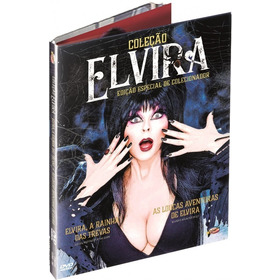 Coleção Elvira Box Dvd 2 Filmes Original Lacrado