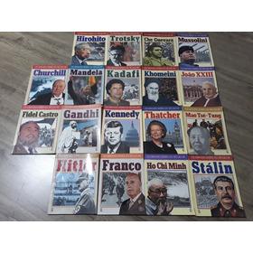 Coleção Grandes Lideres Do Século Xx - Kit C/ 18 Livros 1990