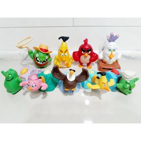 Coleção Mc Donalds Angry Bird Edições Kit 9 Peças!!