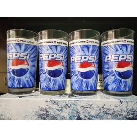 Coleção Pepsi 4 Copos Colecionáveis