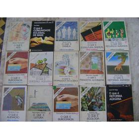 Coleção Primeiros Passos Ed. Brasiliense Vários Números