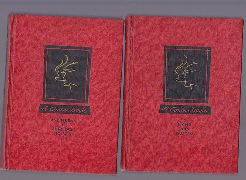 coleçao serie sherlock holmes - 9 volumes - melhoramentos
