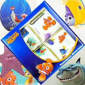 Coleção Tatuagem Para Criança Procurando Nemo Disney 40 Unid