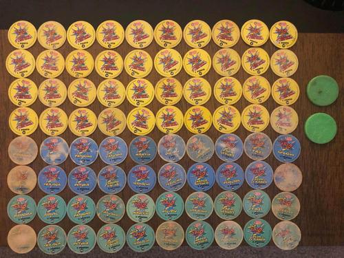 colecao tazos looney tunes elma chips + master tazos