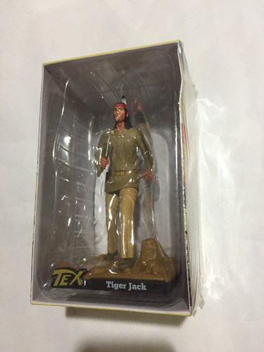 colecao tex 3d - miniatura 4 tiger jack - bonellihq e19