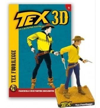 colecao tex 3d - miniatura 9 tex fuorilegge - bonellihq h19