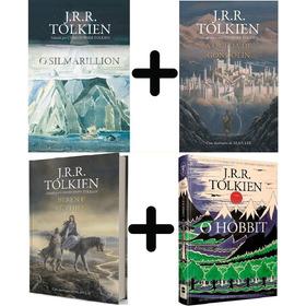 Coleção Tolkien 4 Livros: Hobbit Silmarillion Gondolin Beren
