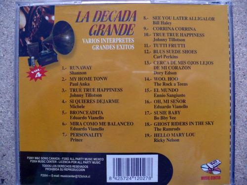 colecciòn cd:: la dècada grande