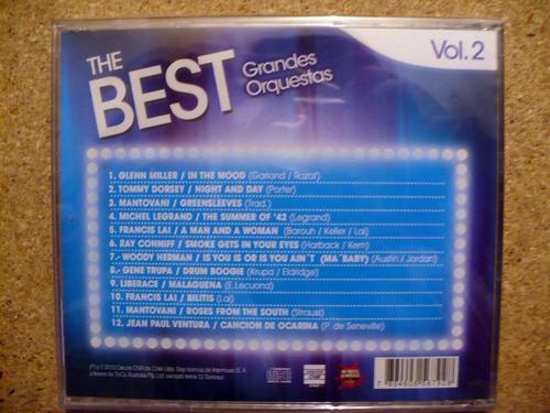 colecciòn cd: the best: grandes orquestas