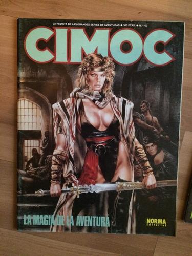 colección 10 revistas cimoc