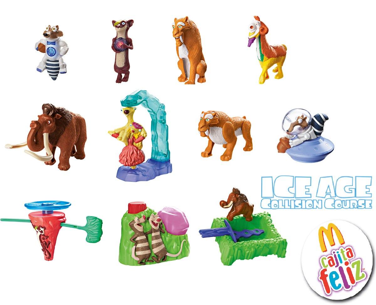 coleccion 11 figuras era de hielo 5 mcdonalds envio